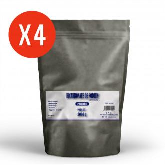 Bicarbonate de Sodium - poudre 4 x 2kg