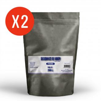 Bicarbonate de Sodium - poudre 2 x 2kg