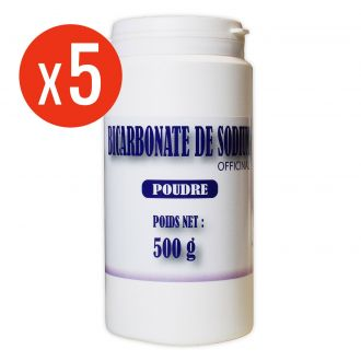 Bicarbonate de Sodium - poudre 5 x 500g