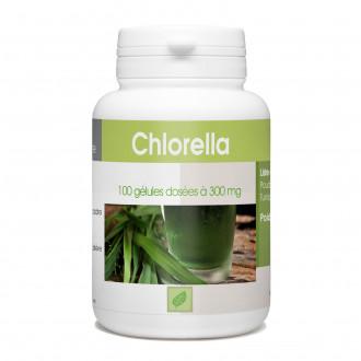 Chlorella - 100 gélules à 300 mg