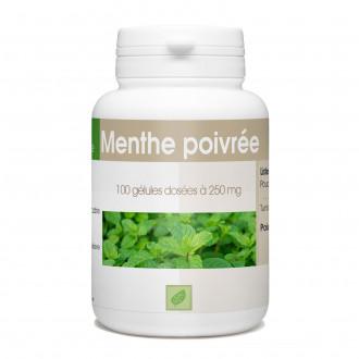 Menthe Poivrée - 250 mg - 100 gélules