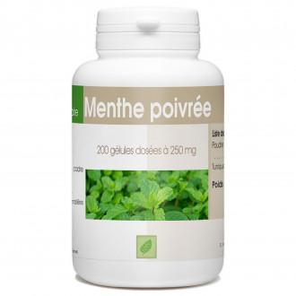 Menthe Poivrée - 250 mg - 200 gélules
