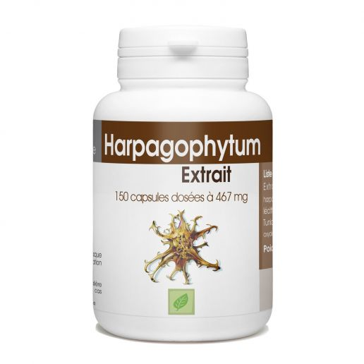 Extrait d'Harpagophytum - 467 mg - 150 capsules