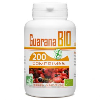 Guarana Bio - 400 mg - 200 comprimés
