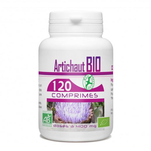 Artichaut Bio 400mg - 120 comprimés