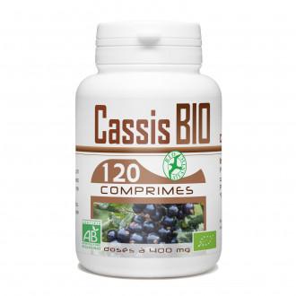 Cassis biologique - 400 mg - 120 Comprimés