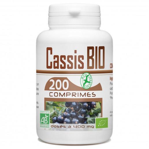 Cassis - 200 Comprimés Bio