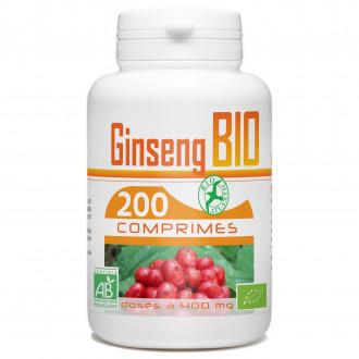 Ginseng Rouge bio - 400 mg - 200 comprimés