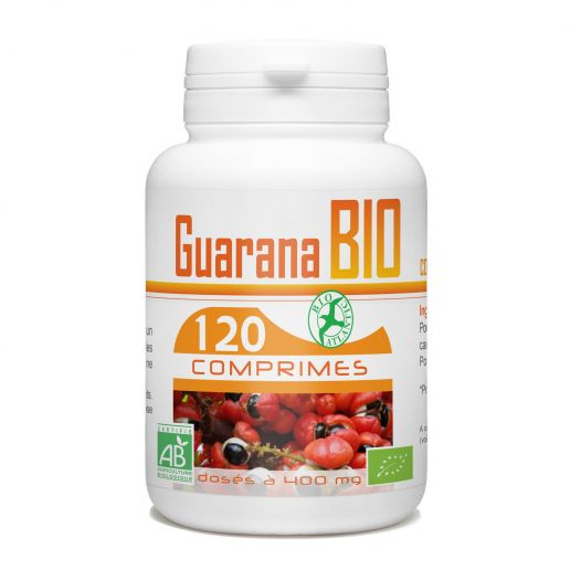 Guarana Bio 120 comprimés 400mg
