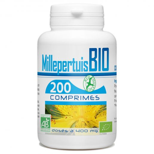 Millepertuis Bio - 400 mg - 200 comprimés