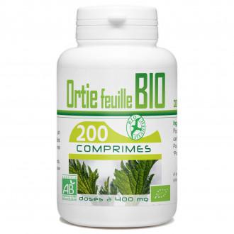 Ortie feuille Bio - 400 mg - 200 comprimés