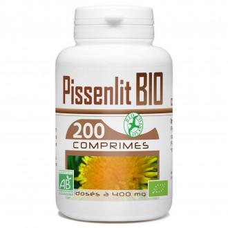 Pissenlit biologique-200 comprimés à 400 mg