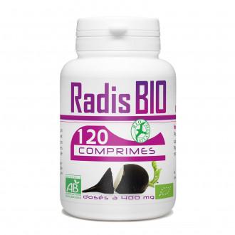 Radis Noir biologique - 400 mg - 120 comprimés