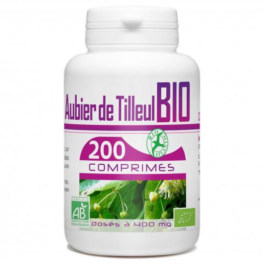 Aubier de Tilleul Bio 400mg 200 comprimés