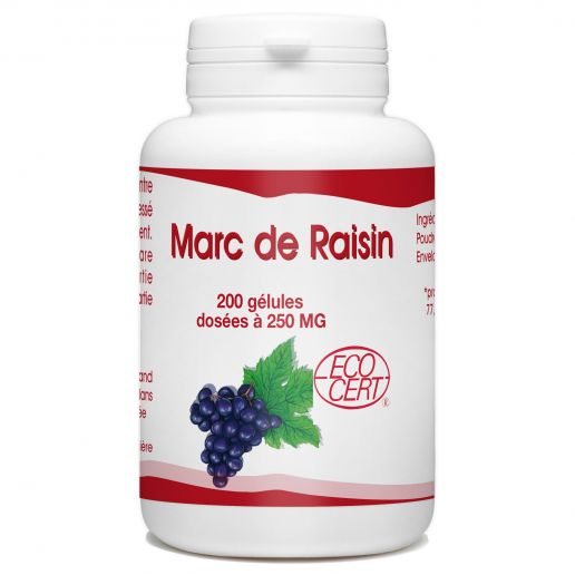 Marc de Raisin - 200 gélules