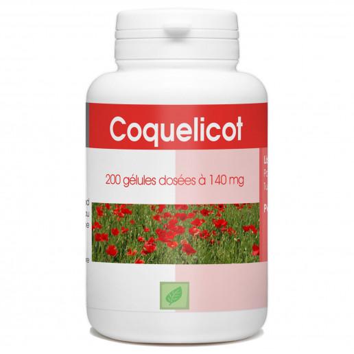 Coquelicot - 200 gélules
