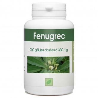 Fenugrec - 330 mg - 200 gélules