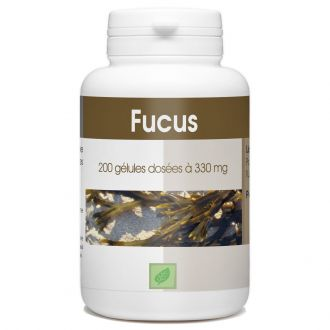 Algue Fucus - 330 mg - 200 gélules