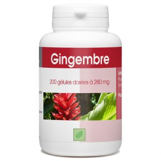 Gingembre - 280 mg - 200 gélules
