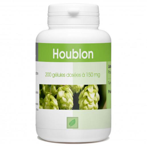 Houblon - 150 mg - 200 gélules