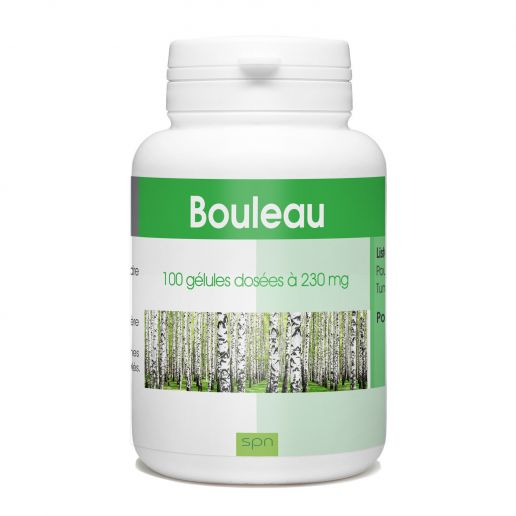 bouleau - 230mg - 100 gélules