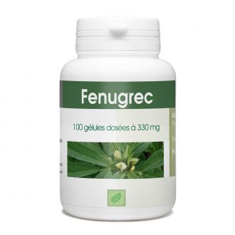 Fenugrec - 330 mg - 100 gélules