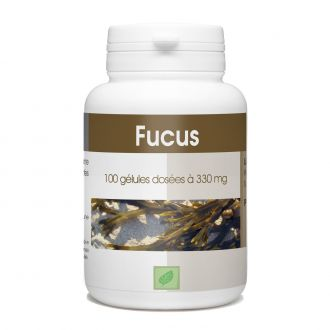 Algue Fucus - 330 mg - 100 gélules