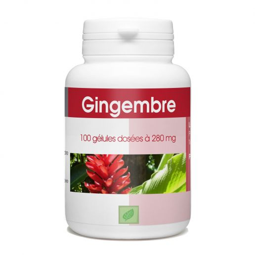 Gingembre - 280mg - 100 gélules