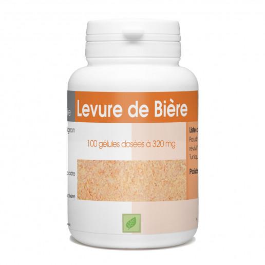 levure de biere revivifiable 320 mg - 100 gélules