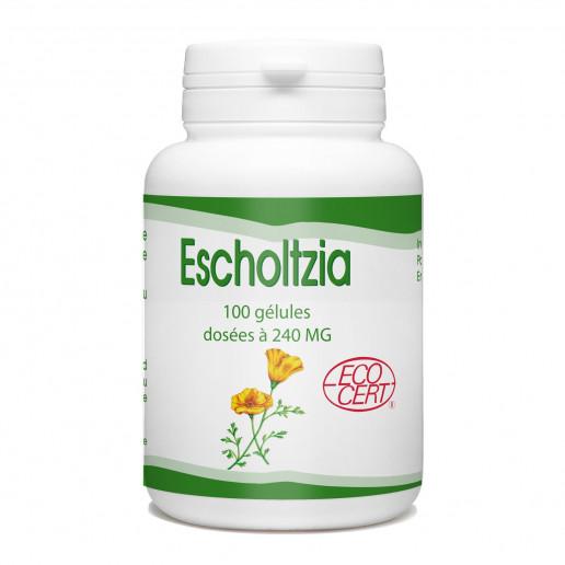 Escholtzia Ecocert - 240 mg - 100 gélules