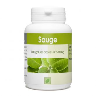 Sauge - 220 mg - 100 gélules