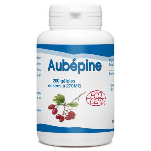 Aubépine Bio - 270 mg - 200 gélules