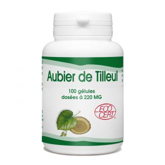 Aubier de Tilleul Bio - 220 mg - 100 gélules