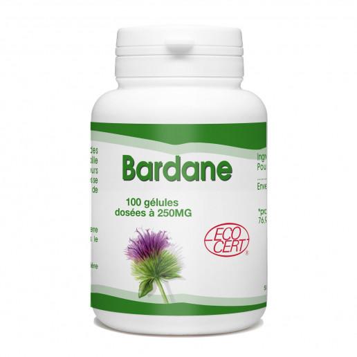 Bardane Ecocert - 250 mg - 100 gélules