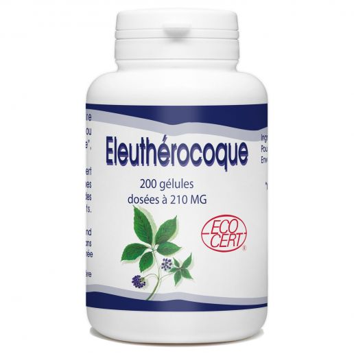 Eleuthérocoque Bio 210 mg - 200 gélules