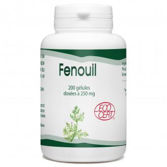 Fenouil Bio - 250 mg - 200 gélules
