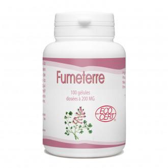 Fumeterre Bio - 200 mg- 100 gélules
