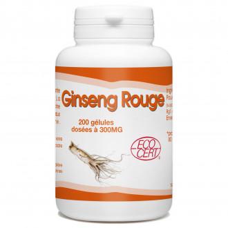 Ginseng Rouge Bio - 300 mg -200 gélules