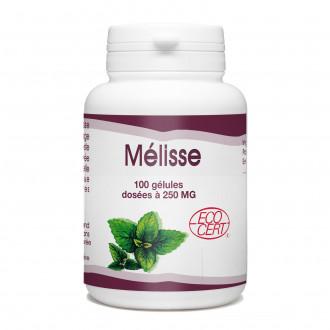 Mélisse Bio - 250 mg - 100 gélules