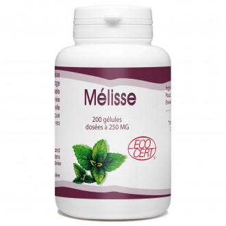 Mélisse Bio - 200 gélules - 250 mg