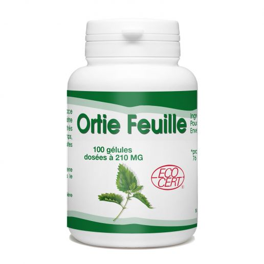 Ortie (feuille) bio - 210mg - 100 gélules