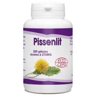 Pissenlit Racine Bio - 270 mg - 200 gélules