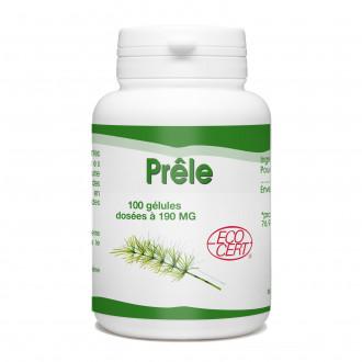Prêle Bio - 190 mg - 100 gélules