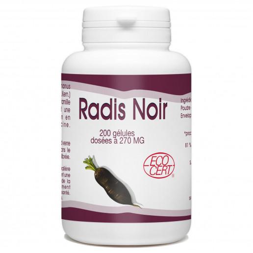 Radis Noir - 200 gélules