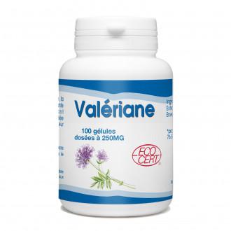 Valériane Bio - 250 mg - 100 gélules