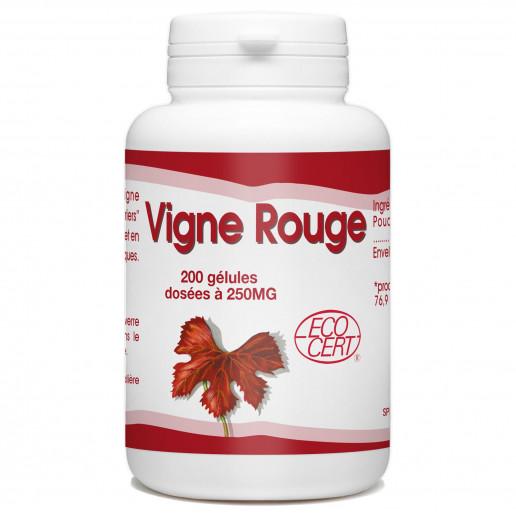 Vigne Rouge - 200 gélules