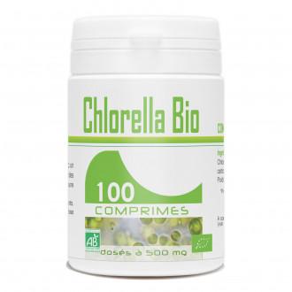 Chlorella Bio - 500mg - 100 comprimés