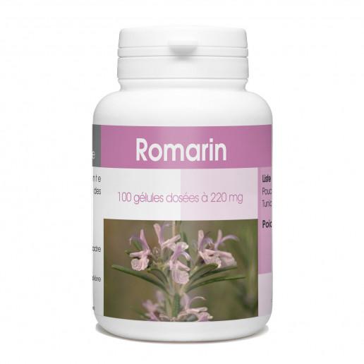 Romarin - 220 mg - 100 gélules