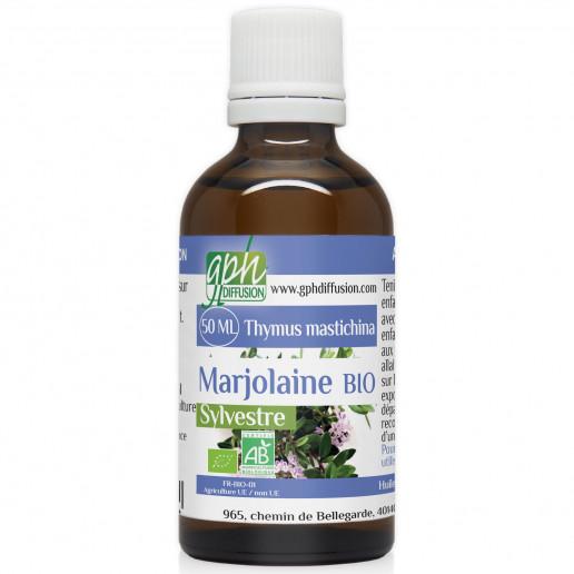 Huile Essentielle de Marjolaine Sylvestre Bio - 50 ml