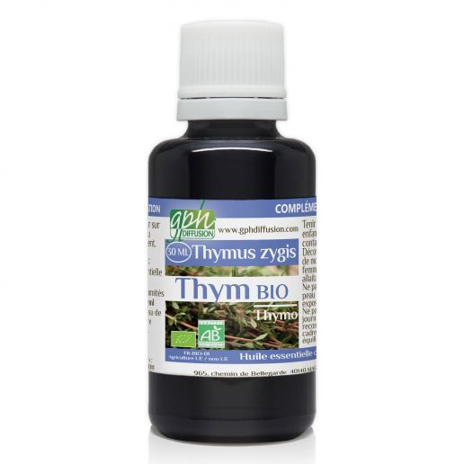 Huile Essentielle de Thym Thymol Bio - 30 ml